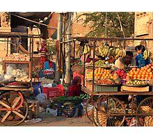 Fruitshop Photographic Print