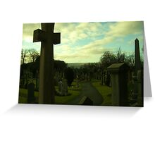 Sterling Castle Cemetary Greeting Card
