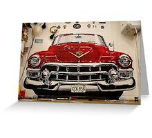 '53 Cadillac Eldorado Greeting Card