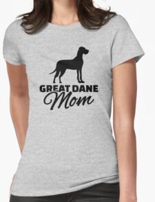 Great Dane Mom Womens Fitted T-Shirt