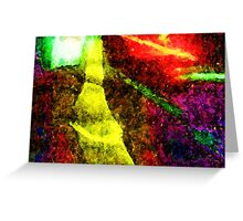 Light Rays Greeting Card