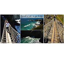 Carrickarede Rope Bridge Photographic Print
