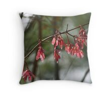 The Promise of Maple Trees  Throw Pillow