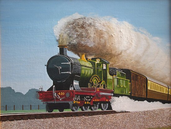 Full Steam Ahead by Olive Denyer