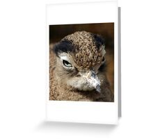Do i need to pluck my eyebrows? Greeting Card