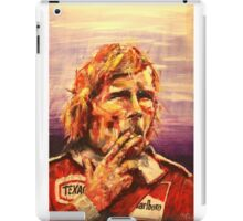 James Hunt iPad Case/Skin