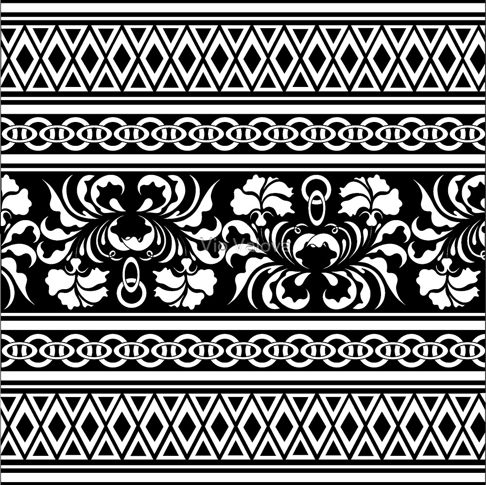 oriental pattern by VioDeSign