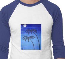 An Evening in the Tropics Men's Baseball ¾ T-Shirt