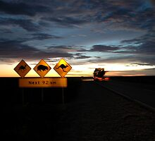 Nullarbor Night, Western Australia 2005 by muz2142