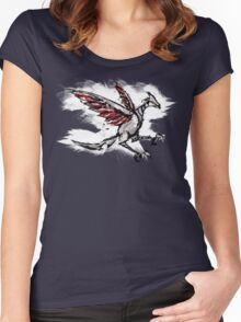 Skarmory Ink Women's Fitted Scoop T-Shirt