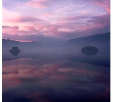 Borrowdale in Pink Photographic Print