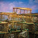 Lobster Baskets and Starlings by Chris Lord