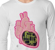 Circuit Heart Long Sleeve T-Shirt