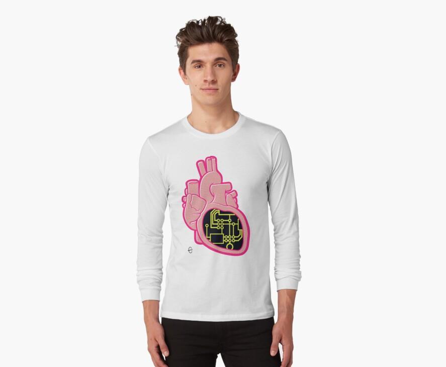 Circuit Heart by Bizarro Art