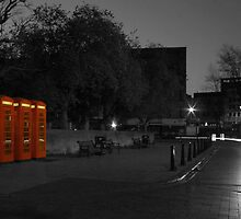 the old red boxes by spencer mitchell