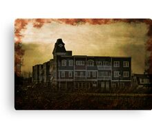 Welcome Home, Sanitarium Canvas Print