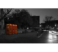 the old red box Photographic Print