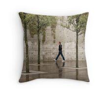 Urban England Throw Pillow