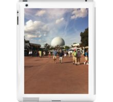 Disney's Spaceship Earth at Epcot iPad Case/Skin