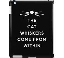 WHISKERS II iPad Case/Skin