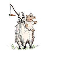 Sheep N Llama V2 by AntonSerzhan