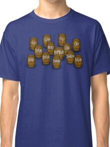Dwarves in barrels from The Hobbit Classic T-Shirt