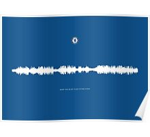 Fan Chants - Keep the blue flag flying high - Chelsea FC Poster