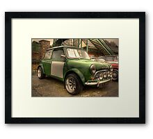 Mini Cooper S Framed Print