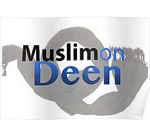 Muslimondeen Clothing Design Logo Poster