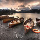 Derwent Water Boats by Jonnyfez