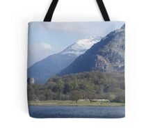 View of Snowdon Tote Bag