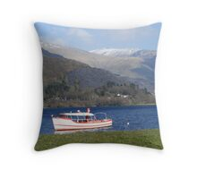 Snowdonia National Park Throw Pillow