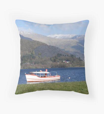Snowdonia National Park Throw Pillow