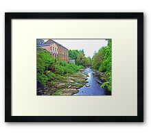 River walk Framed Print