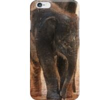 Vintage Asian Baby Elephant iPhone Case/Skin