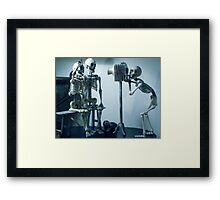 Code Blue  Framed Print