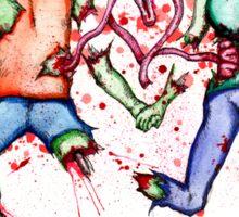 Zombie Love Sticker