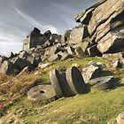Stanage Millstones by Jonnyfez