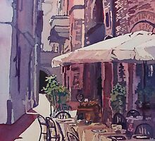 Lucca Cafe by JennyArmitage