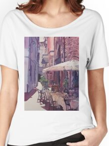 Lucca Cafe Women's Relaxed Fit T-Shirt