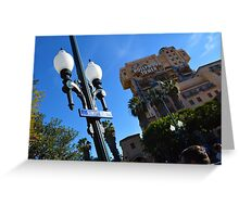 Tower of Terror  Greeting Card