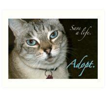 Adopt! Art Print