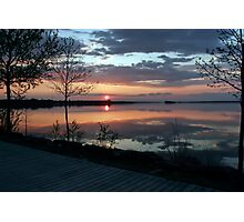 (。◕‿◕。) Sunset In God's Country( GODS PAINTING) (。◕‿◕。)  Photographic Print