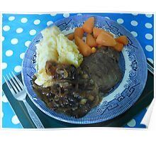 Lean Fillet Steak - The Slimmer's Friend Poster