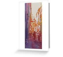 Florence Bikers  Greeting Card