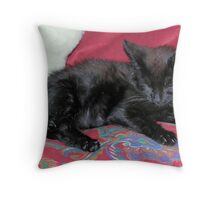 So Tired! Throw Pillow