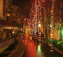 San Antonio Riverwalk by Maggie M
