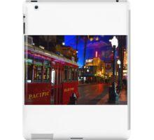 Red Car Trolley iPad Case/Skin