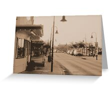 Tarpon Springs Greeting Card
