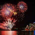 Opera House Fireworks by Ian English